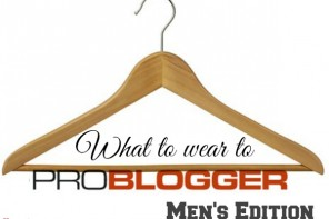 What to wear to ProBlogger 2014 – men's edition
