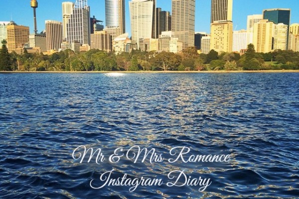 Mr & Mrs Romance - Insta Diary - 1 morning Sydney