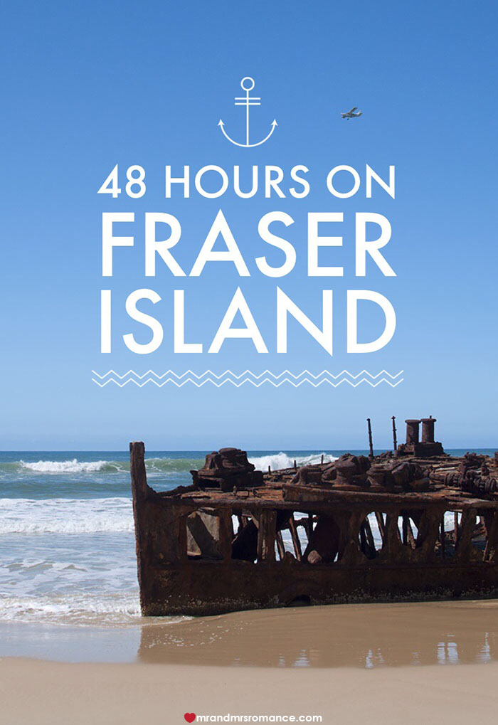 Mr and Mrs Romance - 48 hours on Fraser Island