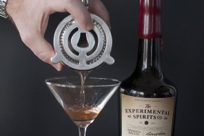 Bacon Bourbon by Experimental Spirits Co – Cocktail Series: part 2 – Bacon Bourbon Manhattan