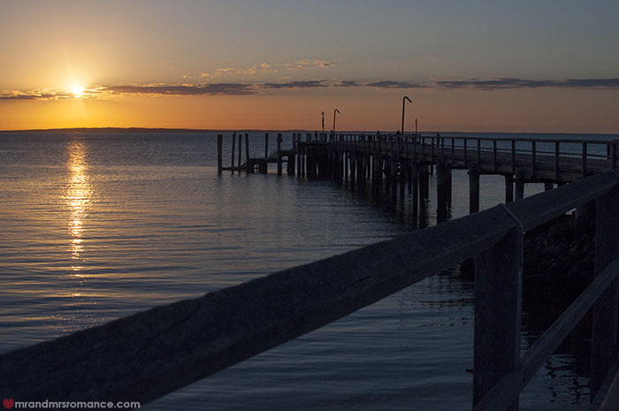 Mr and Mrs Romance - What to do on Fraser Island - Kingfisher Bay sunsets