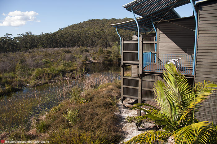 Mr and Mrs Romance - Where to stay on Fraser Island - Kingfisher Bay Resort views