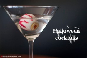 Halloween Cocktails – For Your Eyes Only Martini series