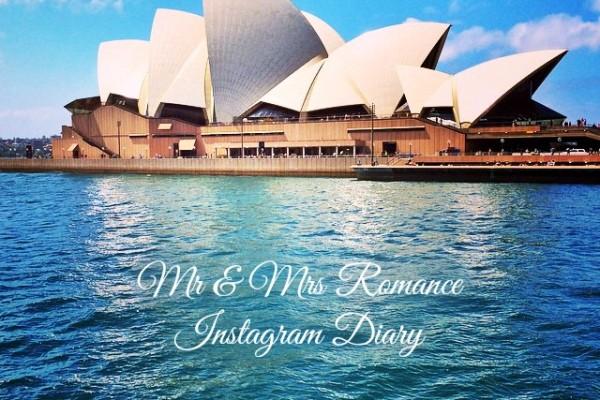 Mr & Mrs Romance - Insta Diary - 1 Sydney Opera House