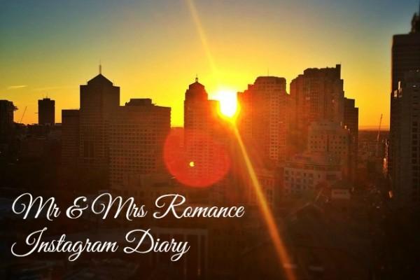 Mr & Mrs Romance - Insta Diary - 1 sunset in the city