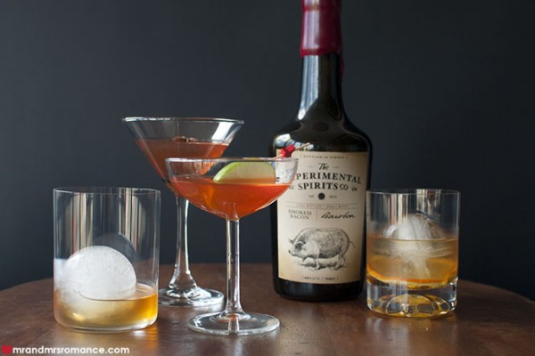 Mr and Mrs Romance - Experimental Spirits Co bacon bourbon cocktail recipes