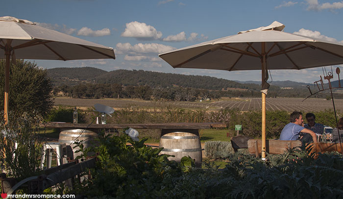 Mr and Mrs Romance - Lowe Wines Cellar door Mudgee