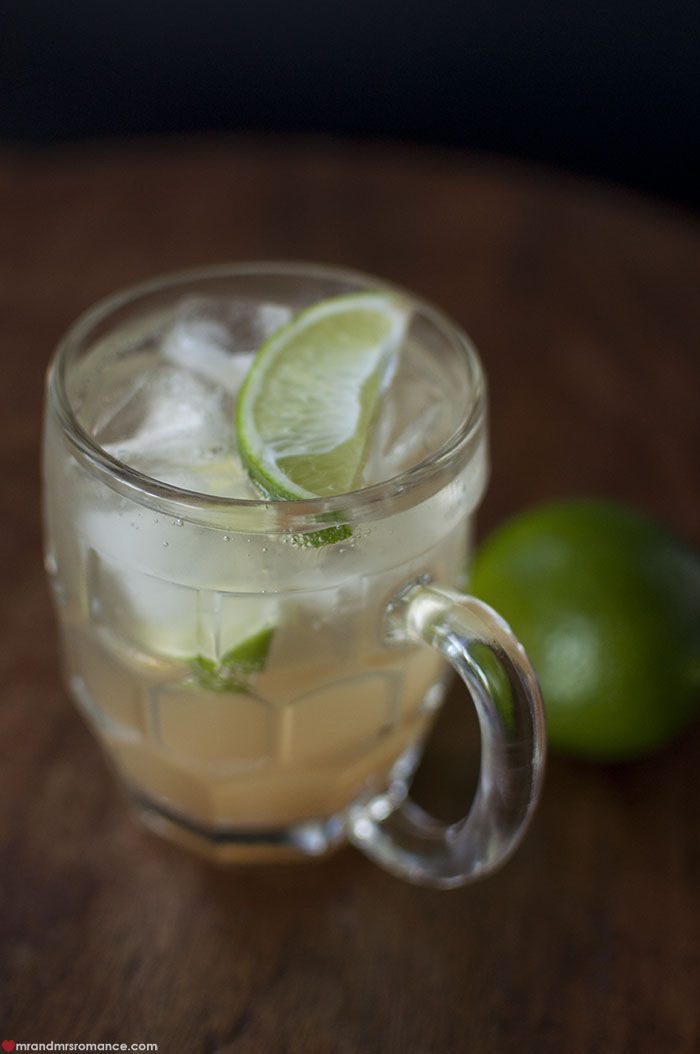 Mr and Mrs Romance - dark and stormy cocktail recipe 10