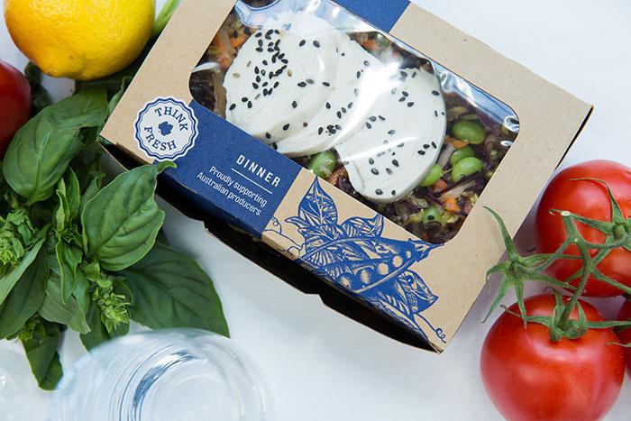 Qantas - new ecomomy dinner boxes