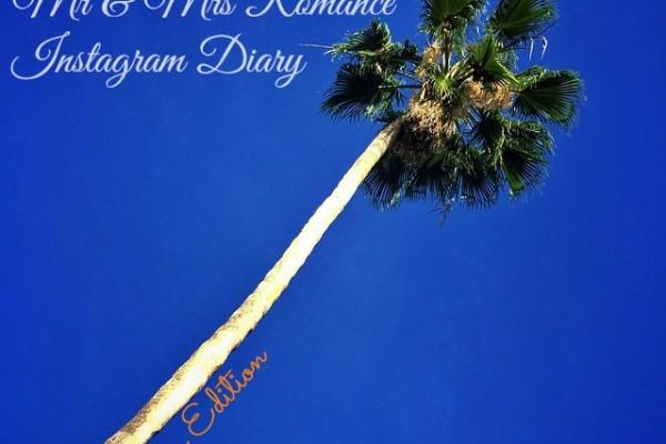Mr & Mrs Romance - Insta Diary - 1 Cali Palm trees