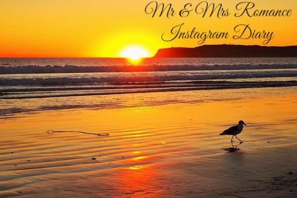 Mr & Mrs Romance - Insta Diary - 1 sunset title