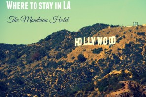 Where to stay in LA: the Mondrian Hotel, West Hollywood review