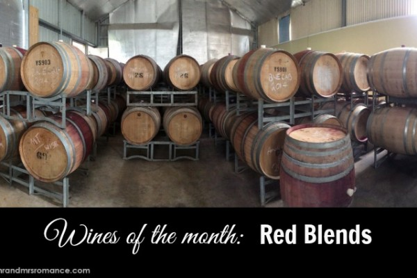 Mr & Mrs Romance - red blends - title pic1
