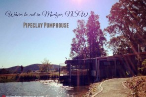 Where to eat in Mudgee, NSW – Pipeclay Pumphouse Restau