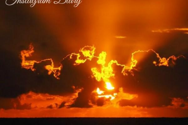 Mr & Mrs Romance - Insta Diary - 1 title sunrise