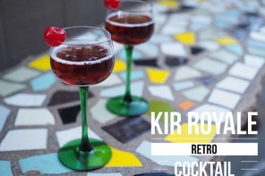 Easy Holiday Cocktails – Retro Kir Royale
