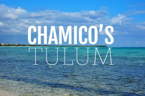 Barefoot dining Mexican style – Chamico's, Soliman Bay, Tulum, Mexico