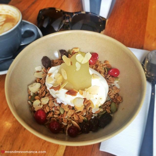 Mr & Mrs Romance - Insta Diary - 1aCB1 Mrs R's breakfast