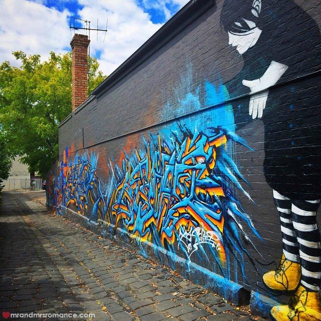 Mr & Mrs Romance - Insta Diary - 6 Melbourne street art