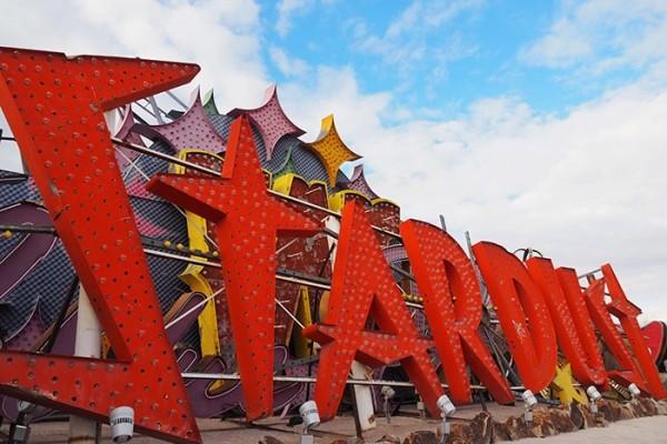 Mr and Mrs Romance - Things to do in Las Vegas - Neon Boneyard Museum