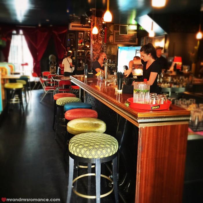 Mr & Mrs Romance - Friday Drinks - Bearded Tit bar