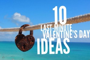10 last-minute Valentine's Day ideas