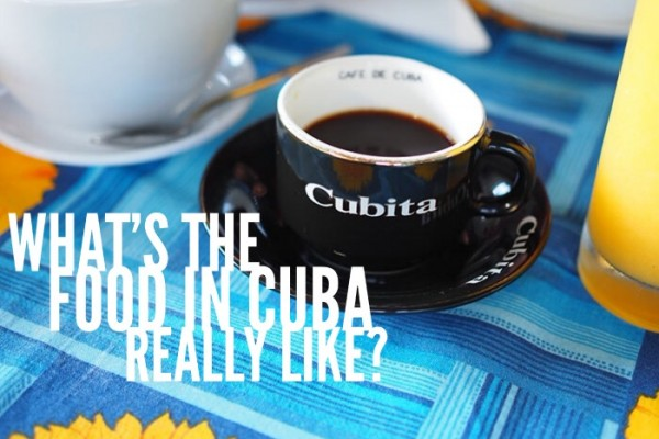 Mr & Mrs Romance - food in Cuba - feauture pic