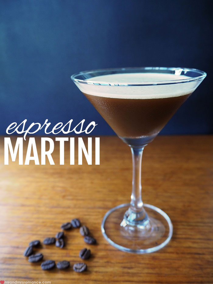 Mr and Mrs Romance - Espresso Martini cocktail recipe