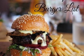 Our top 10 burger list of all time