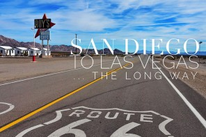 American Road Trip – San Diego to Las Vegas… the long way