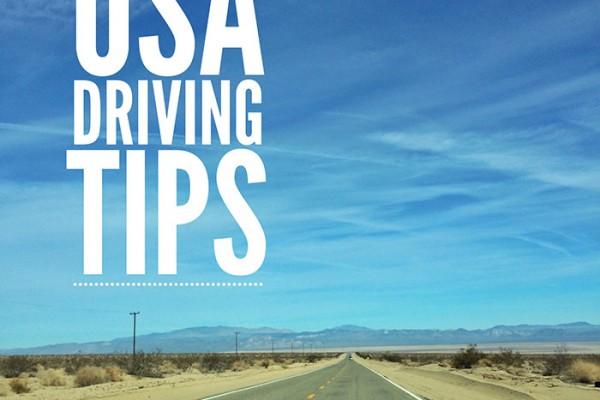 Mr and Mrs Romance - USA roadtrip - driving tips