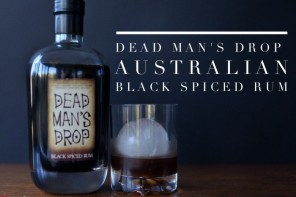 Friday Drinks Exclusive – new Aussie black spiced rum 'Dead Man's Drop' plus rum sour cocktail recipe
