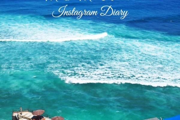 Mr & Mrs Romance - Insta Diary - 1 Bali title