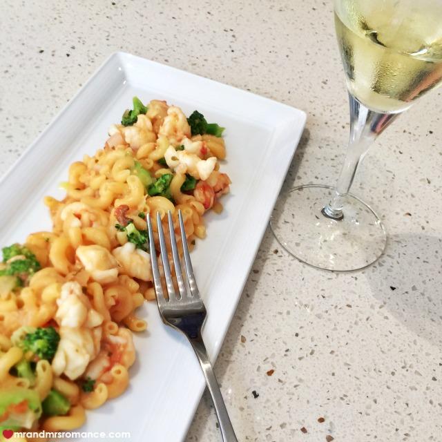 Mr & Mrs Romance - Insta Diary - 10 prawn pasta dish