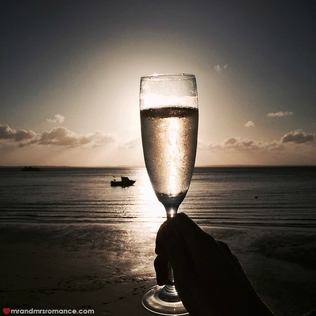 Mr & Mrs Romance - Insta Diary - 11 champagne on Fraser