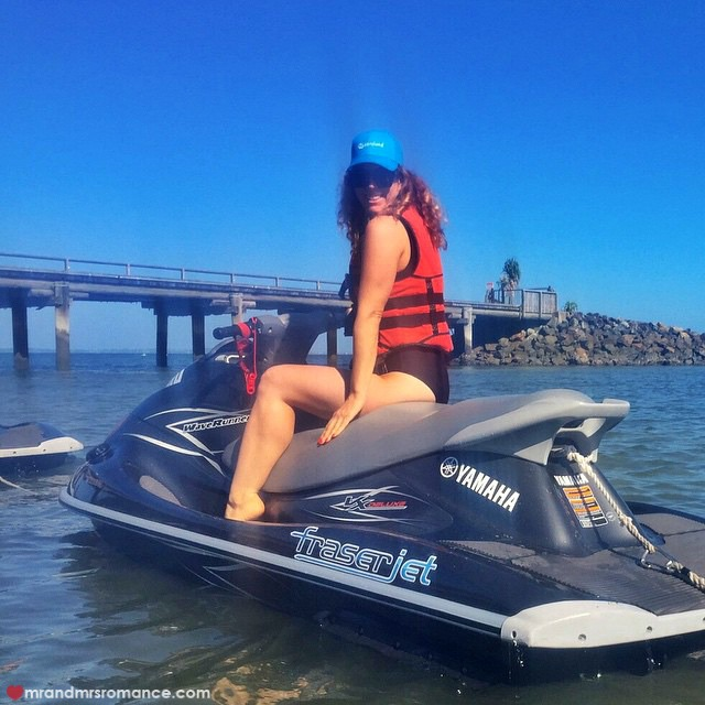 Mr & Mrs Romance - Insta Diary - 14 jet ski lady