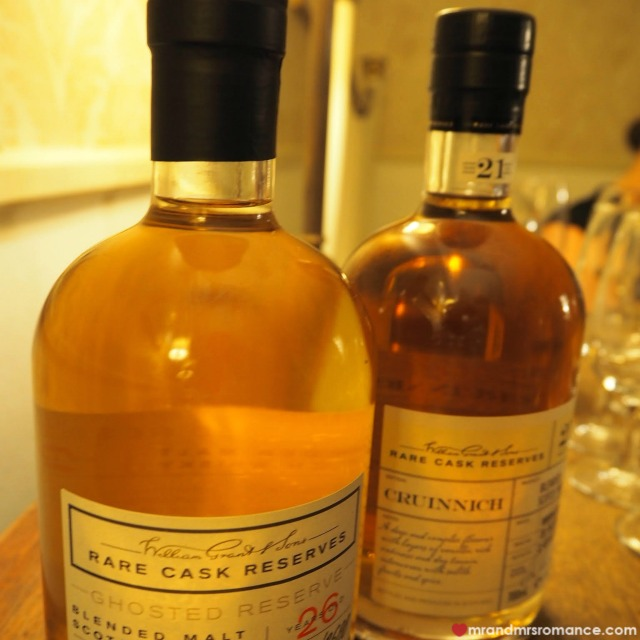 Mr & Mrs Romance - Insta Diary - 3a ghosted whiskeys
