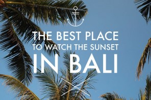 The best place to watch the sunset in Bali