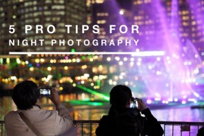 5 pro tips for night photography