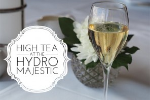 High Tea at the Hydro Majestic, Blue Mountains