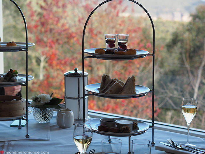 Mr and Mrs Romance - High Tea at the Hydro Majestic Blue Mountains