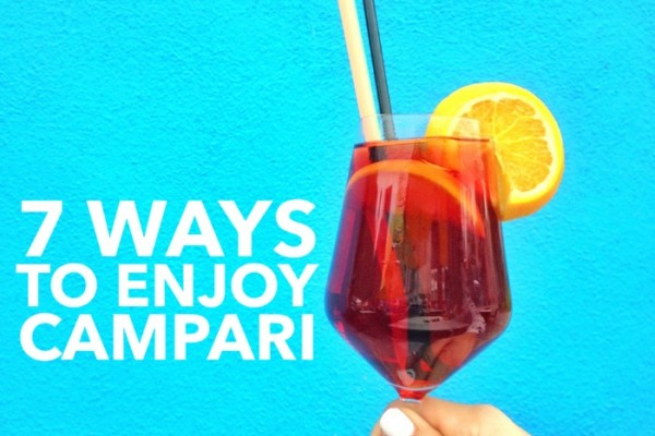 Mr & Mrs Romance - Campari - feature title