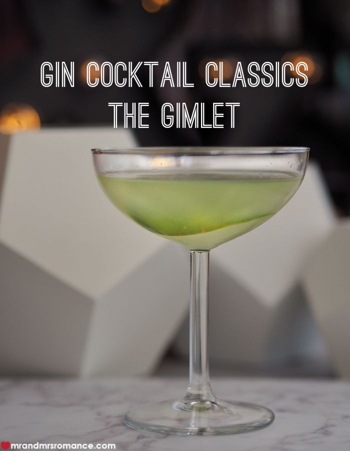 Mr & Mrs Romance - Gimlet - title