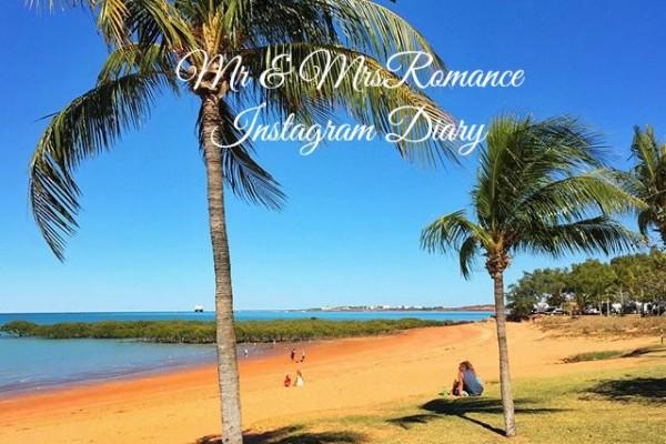 Mr & Mrs Romance - Insta Diary - 1 Broome beach