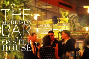 Romance at dinnertime – the Morrison Bar and Oyster House, Sydney