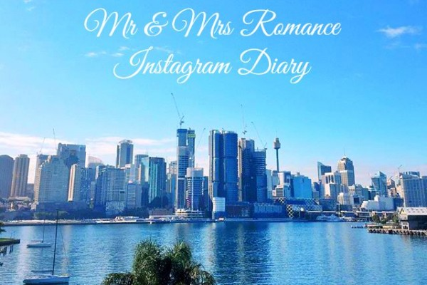 Mr & Mrs Romance - Insta Diary - 1a title