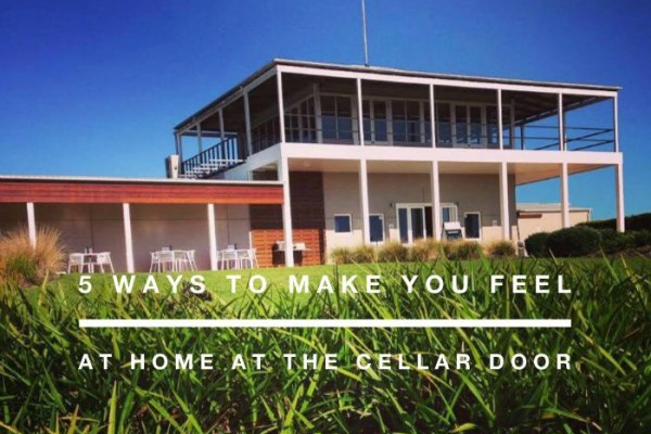 Mr & Mrs Romance - at home at the cellar door - feature