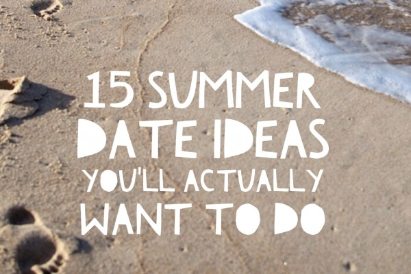 Mr & Mrs Romance - summer date ideas - feature