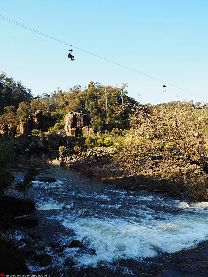 Mr & Mrs Romance - Spirit of Tasmania - Cataract Gorge