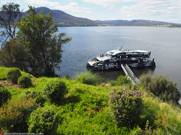 Mr & Mrs Romance - Spirit of Tasmania - ferry to MONA